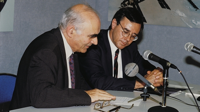 Conférence de Presse avec Jean-Daniel Levi 1992