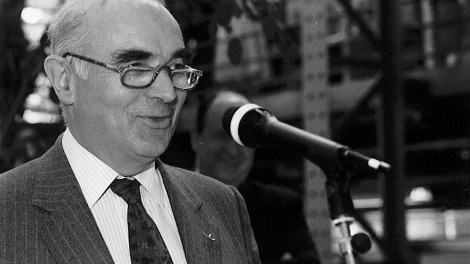 H. Curien avec Haroun Tazieff (1970)