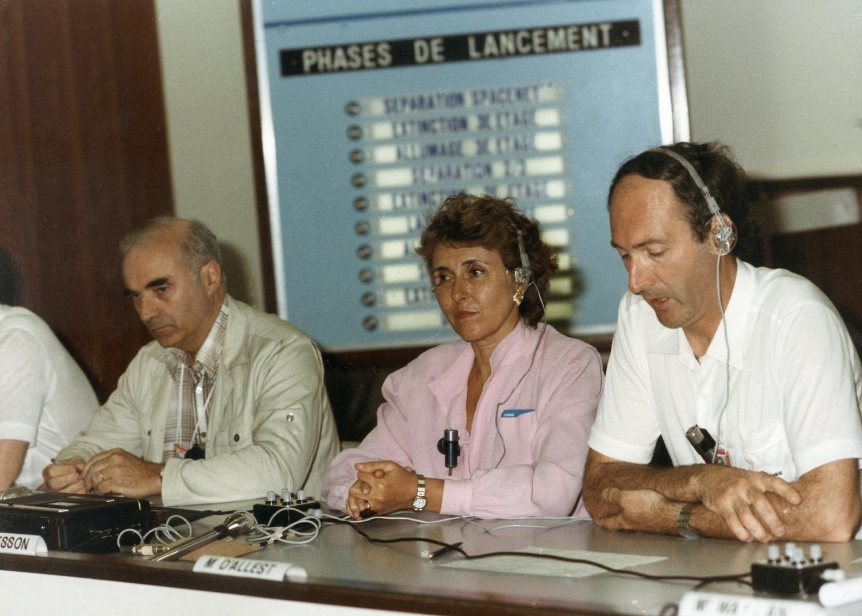 Conseil des Ministres en charge de l'espace (Grenade, 1992) , avec Jean Marie Luton et Heinz Riesenhüber