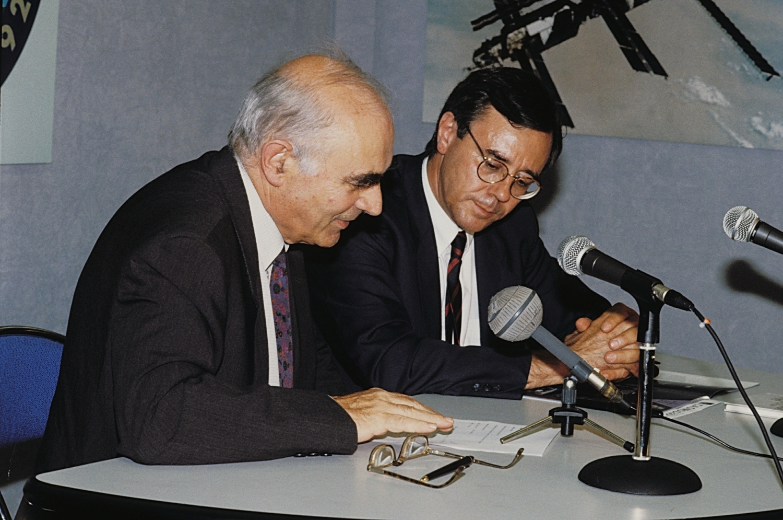 Conférence Ariane L01 - 1979 Hubert Curien