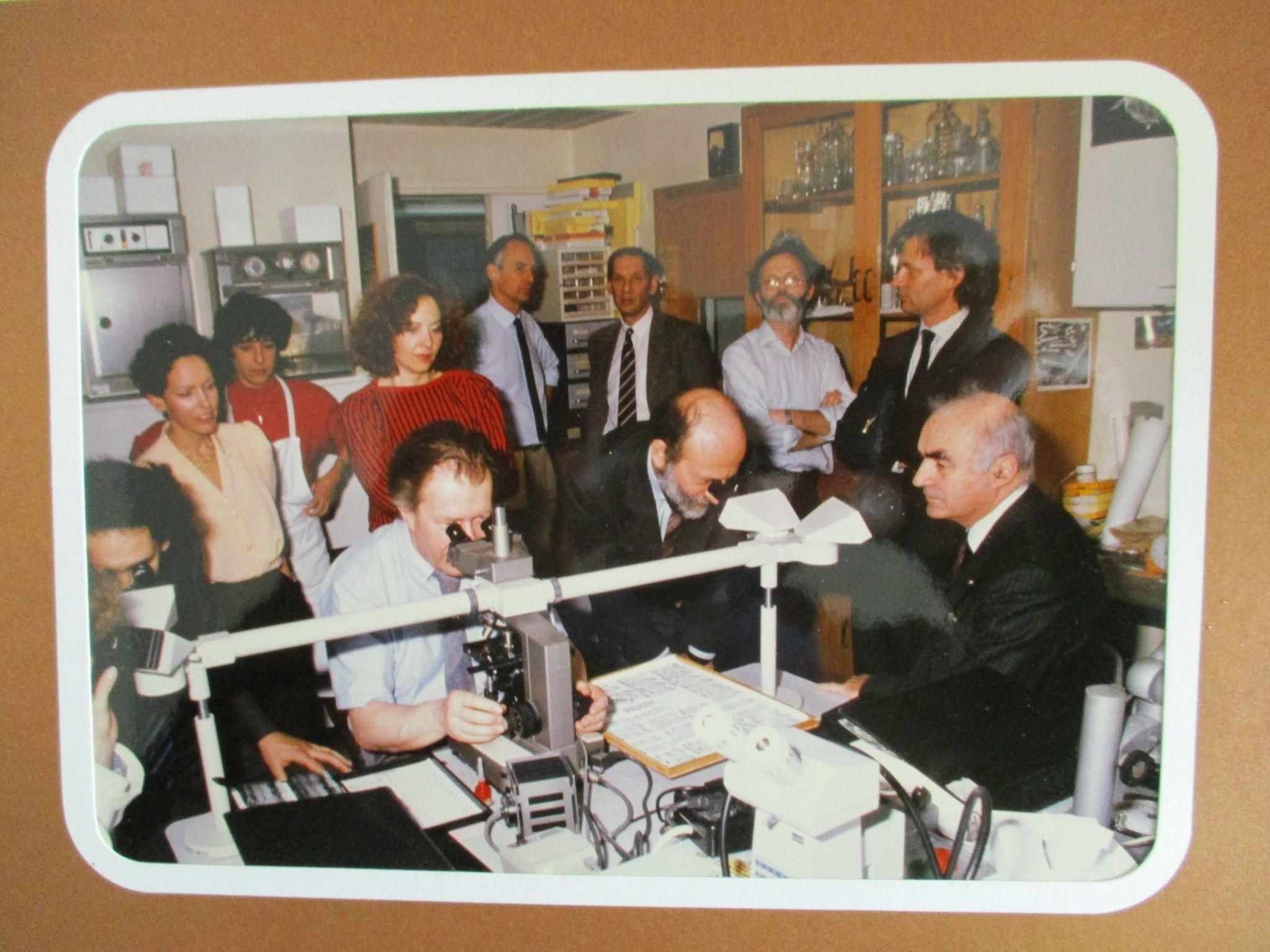 Déplacement du ministre à Fécamp en présence de Frédérique Bredin, maire de Fécamp, 10 novembre 1988