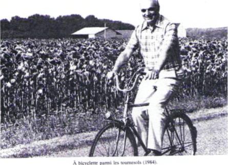 Hubert Curien à vélo !